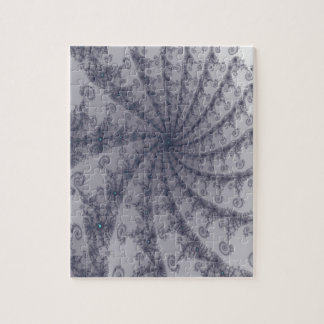 Old Fashion Black Lace Fractal Puzzles