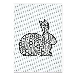 Old Fashion Bunny Easter Party Invitations