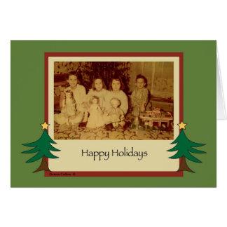 Old Fashion Christmas 1958 Card