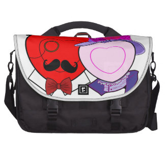 OLD FASHION HEARTS LAPTOP BAGS