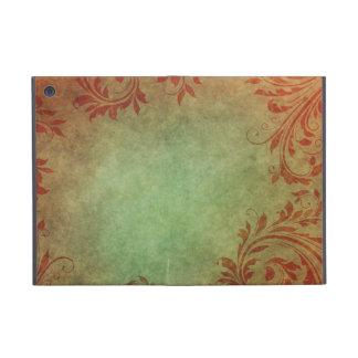 Old Fashion Leaf pattern Cases For iPad Mini