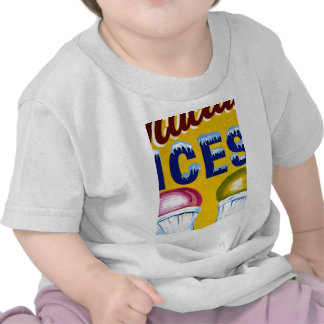 Old Fashion Signs: ICES! Tshirt
