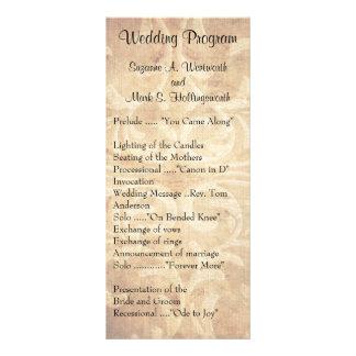 Old Fashion Wedding Programs