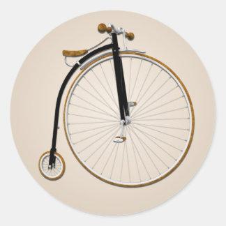 Old Fashioned Bike Sticker
