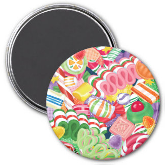 Old Fashioned Christmas Candy Magnet