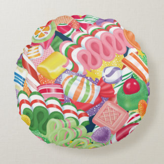 Old Fashioned Christmas Candy Pillow