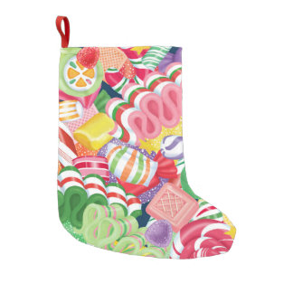 Old Fashioned Christmas Candy Stocking