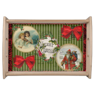 Old Fashioned Christmas Serving Tray