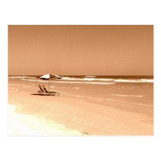 Old Fashioned Daytona Beach Photograph Postcard