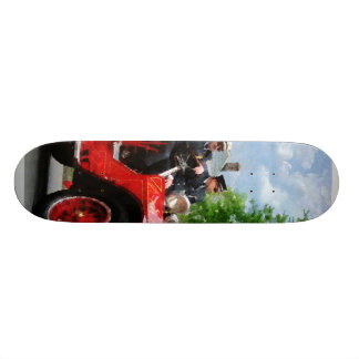 Old Fashioned Fire Truck Skate Boards
