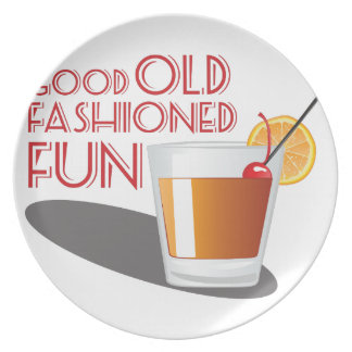 Old Fashioned Fun Party Plates