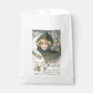 Old-fashioned Halloween, Girl meet Goblins Favour Bag