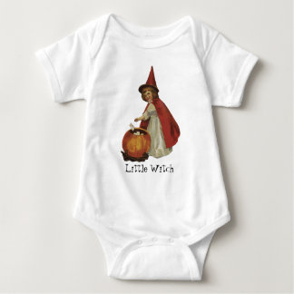 Old Fashioned Halloween Witch Girl T-shirts