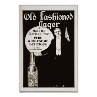 Old Fashioned Lager (1914) Poster