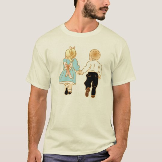 Old Fashioned Love Holding Hands T-Shirt