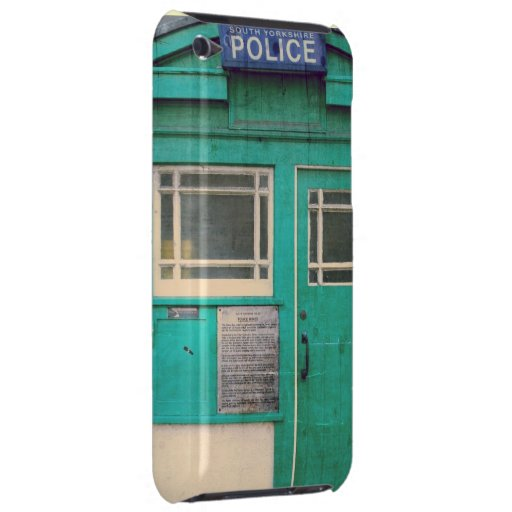 old-fashioned police phone box iPod touch covers
