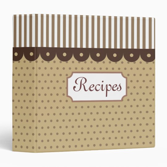 Old Fashioned Recipe Binder