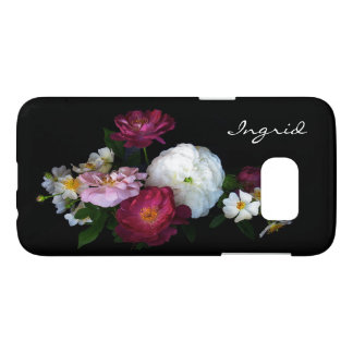 Old Fashioned Rose Flowers Samsung Galaxy S7 Case