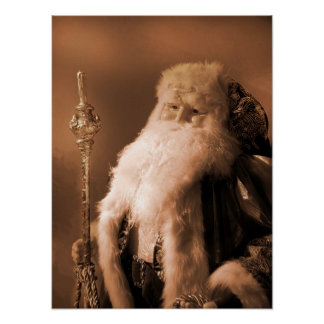 Old Fashioned Saint Nick Posters