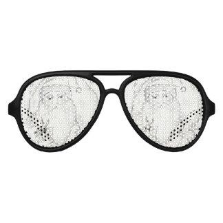 Old Fashioned Santa Aviator Sunglasses