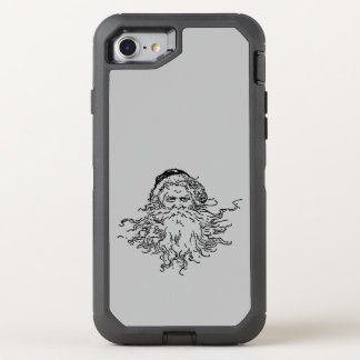 Old-Fashioned Santa Gray OtterBox Defender iPhone 8/7 Case