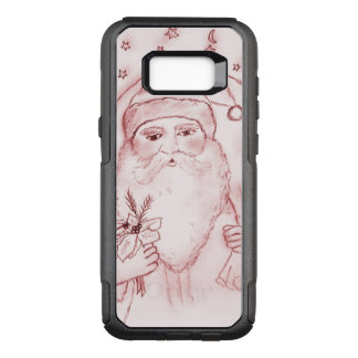 Old Fashioned Santa in Cranberry OtterBox Commuter Samsung Galaxy S8+ Case