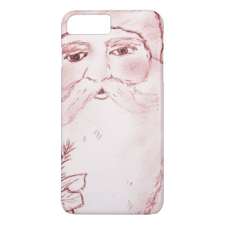 Old Fashioned Santa in Red iPhone 7 Plus Case