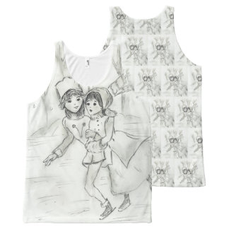 Old Fashioned Skaters All-Over-Print Tank Top