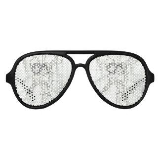 Old Fashioned Skaters Aviator Sunglasses