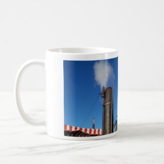 old fashioned steam whistle coffee mug