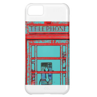 Old Fashioned Telephone Booth Cover For iPhone 5C