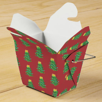 Old Fashioned Tree Favor Box