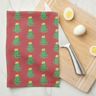 Old Fashioned Tree Kitchen Towel
