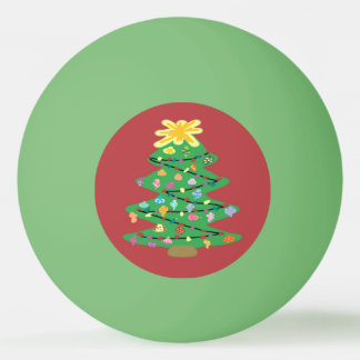 Old Fashioned Tree Ping Pong Ball