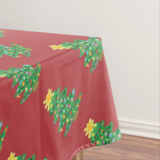 Old Fashioned Tree Tablecloth