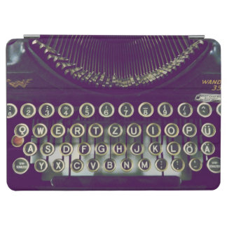 old fashioned typewriter iPad air cover