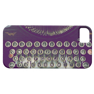 old fashioned typewriter iPhone 5 cover
