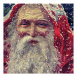 Old-fashioned Victorian Saint Nicholas Poster