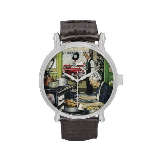 Old Fashioned Vintage Home Kitchen Christmas Watches