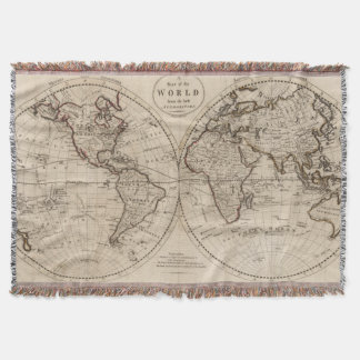 World Map Throw Blankets World Map Throw Designs - World map blanket