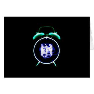 Old Fashioned X-Ray Vision Alarm Clock - Original Card
