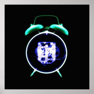 Old Fashioned X-Ray Vision Alarm Clock - Original Poster