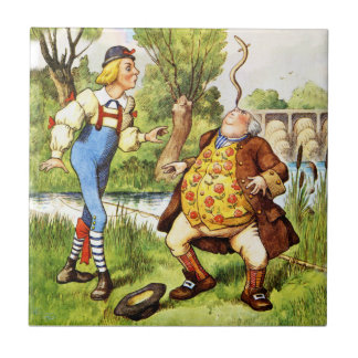 Old Father William From Alice in Wonderland Tiles