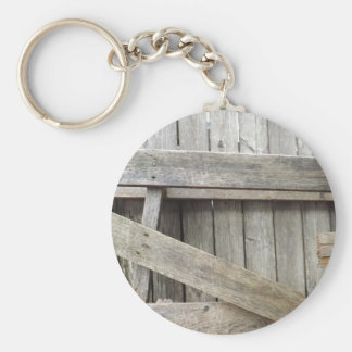 Old Fence Keychain