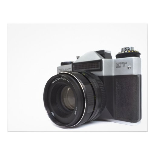 Old film camera custom flyer
