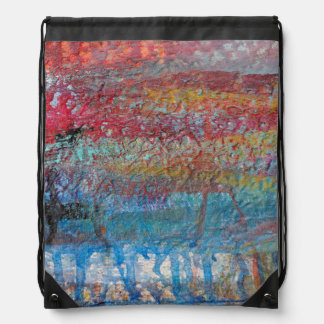 Old Fishing Boat | Rockport, Massachusetts Drawstring Bag
