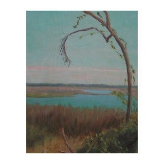 OLD FLORIDA MARSH Wood Wall Art