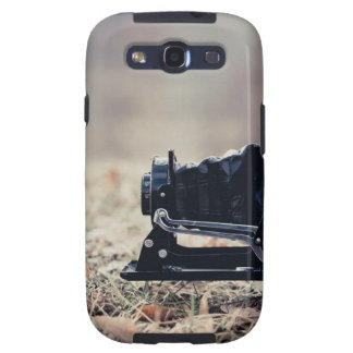Old folding camera samsung galaxy SIII cover