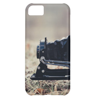 Old folding camera iPhone 5C cover