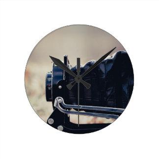 Old folding camera wall clocks